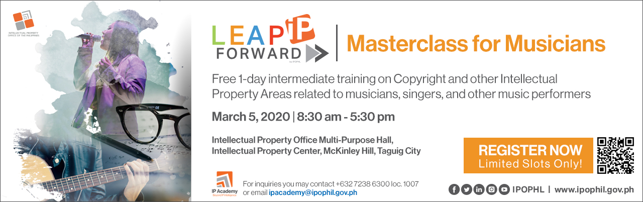 LEAP IP Forward>> Masterclass for Musicians